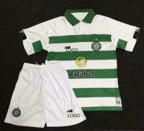 19-20 AAA Quality children Celtic home Soccer uniforms