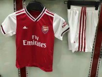 19-20 children AAA Quality Arsenal home soccer/football uniforms/kits