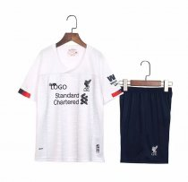 19-20 children AAA quality Liverpool white soccer uniforms