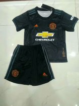 2019/20 children AAA Quality Manchester United balck soccer uniforms