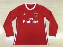 2019/20 Adult thai quality Benfica red long sleeve soccer/football jersey/shirt