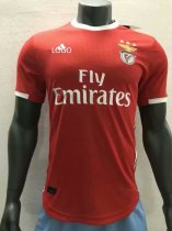 19/20 Adult player version Benfica home soccer jersey