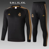 2019/20 Adult real madrid  jacker balck soccer tracksuit