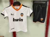 2019/20 KID AAA Quality Valencia CF home soccer uniforms