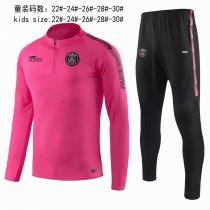 2019/20 children AAA Quality PSG pink pre-match Soccer uniforms