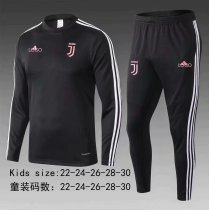 2019/20 children AAA Quality  juventus pre-match balck soccer unifoems