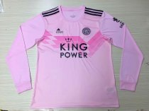 2019/20 Adult fan version Leicester City away long sleeve soccer jersey