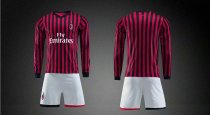 19/20 AAA Quality wihout logo men AC Milan long sleeve soccer/football uniforms/kits