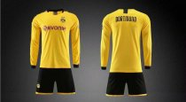 19/20 AAA Quality wihout logo men Borussia Dortmund long sleeve soccer/football uniforms/kits