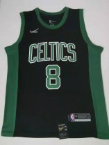 2019/20 men Boston Celtics 8 balck  basketball jersey
