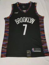 2019/20 Adult Brooklyn Nets 7 durant City version basketball jersey