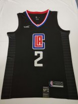 2019/20 Adult Los Angeles Clippers 2 LEONARD balck basketball jersey