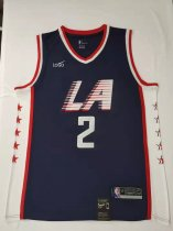 2019/20 Adult Los Angeles Clippers 2 LEONARD City version basketball jersey