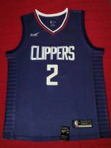 2019/20 Adult Los Angeles Clippers 2 LEONARD blue basketball jersey