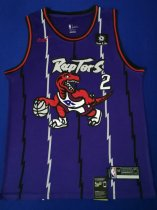 2019/20 Adult Toronto Raptors 2 le0nard purple  basketball shirt