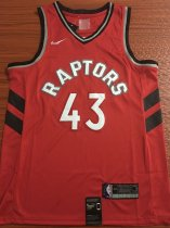 2019/20 men Toronto Raptors SIAKAM 43 red basketball jersey