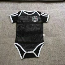 19/20 with number Mexico baby balck soccer/football shirt