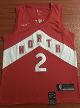 2019/20 Adult Toronto Raptors NOPTH 2 red Reward version basketball jersey