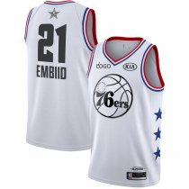 2019/20 Adult All-Star Rookie Jersey Philadelphia 76ers EMBIID 21 white basketball shirt