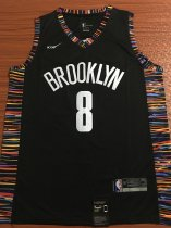 2019/20 Adult Brooklyn Nets DINWIDDIE 8  City version basketball jersey