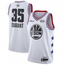 19/20 Adult All-Star Rookie Jersey Golden State Warriors 35 white basketball shirt