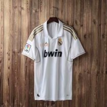 2012 Adult fan version real madrid home white retro soccer jersey football shirt Fútbol