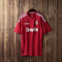 2012 Adult fan version real madrid red retro soccer /football shirt