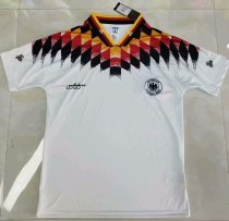 Adult fan version Germany home retro soccer jersey football shirt Fútbol