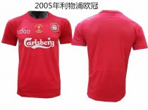 05 Adult fan version Liverpool red retro soccer jersey football shirt Fútbol