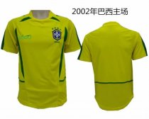 02 Adult thai quality Brazil home soccer jersey football Fútbol