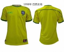 98 Adult thai quality Brazil home soccer jersey football Fútbol