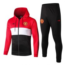 2019/20 men hoodies jacket Manchester United red soccer uniforms football kits