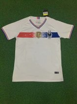 19-20 France  White Soccer Jersey Thai Quality Adult Football Shirt
