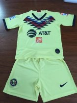 19-20  Club America Home Children Soccer Uniforms