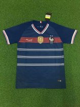 19-20 France  Blue Soccer Jersey Thai Quality Adult Football Shirt