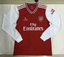 19-20 Arsenal Thai Quality Long Sleeve Adult Soccer Jersey