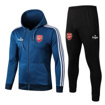 19/20 men Arsenal color blue Soccer jacket with hoodies football kits