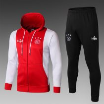 19/20 men AFC Ajax red soccer jacket with hoodies football kits