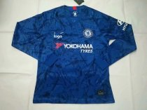 2019-20 Fan Version adult Chelsea long sleeve soccer jersey football shirt