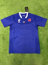 19-20 Thai quality Rugby World cup France blue Rugby jersey
