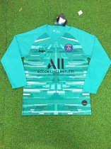 19-20 Thai quality adult PSG long sleeve goalkeeper soccer jersey football shirt