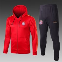 19/20 Men Bayern red Soccer jacket with hoodies football kits