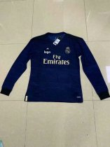 2019-20 Fan Version adult real madrid long sleeve white soccer jersey football shirt