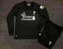 2019-20 Adult Liverpool Long Sleeve Soccer Jersey Winter Football Uniforms
