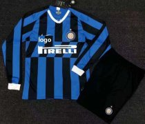 19/20 Adult Inter Milan Long Sleeve Soccer Jersey Winter Football Uniforms