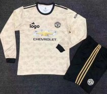 2019/20 Adult Manchester United Long Sleeve Soccer Jersey Winter Football Uniforms