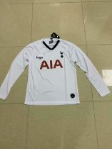 19-20 Thai quality adult Tottenham long sleeve white soccer jersey football shirt