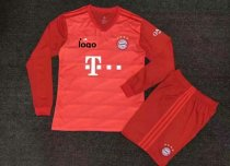 19-20 Adult Bayern Long Sleeve Soccer Jersey Winter Football Uniforms
