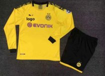 19/20 Adult Borussia Dortmund Long Sleeve Soccer Jersey Winter Football Uniforms