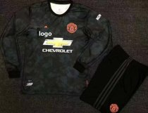 19/20 Adult Manchester United Long Sleeve Soccer Jersey Winter Football Uniforms